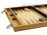 picture of 15-inch Wood Backgammon Set - Olive Wood (5 of 11)