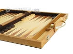 picture of 15-inch Wood Backgammon Set - Olive Wood (6 of 11)