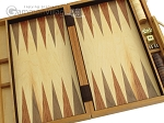 picture of 15-inch Wood Backgammon Set - Olive Wood (8 of 11)