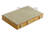 15-inch Wood Backgammon Set - Olive Wood - Item: 2582