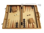 picture of 18-inch Wood Backgammon Set - Olive Wood (1 of 11)