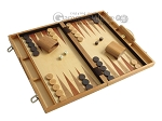 picture of 18-inch Wood Backgammon Set - Olive Wood (2 of 11)