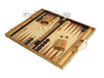 picture of 18-inch Wood Backgammon Set - Olive Wood (3 of 11)