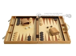 picture of 18-inch Wood Backgammon Set - Olive Wood (4 of 11)