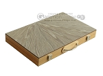 18-inch Wood Backgammon Set - Olive Wood - Item: 2583