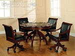 Palm Springs Game Table Set (Table + 4 chairs) - Item: 2539