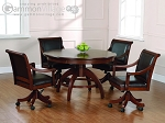 Palm Springs Game Table Set (Table + 4 chairs)