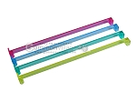 Mah Jong Pushers - Acrylic - Colored Clear - Set of 4