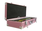 picture of White Swan Mah Jongg™ - Ivory Tiles - Aluminum Case - Pink (3 of 11)