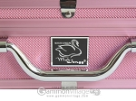 picture of White Swan Mah Jongg - White Tiles - Aluminum Case - Pink (6 of 11)
