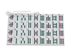 picture of White Swan Mah Jongg - White Tiles - Aluminum Case - Pink (7 of 11)
