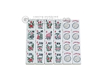 picture of White Swan Mah Jongg - White Tiles - Aluminum Case - Pink (11 of 11)