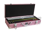 picture of White Swan Mah Jongg - White Tiles - Aluminum Case - Pink (1 of 11)