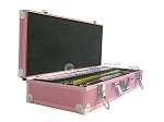 picture of White Swan Mah Jongg - White Tiles - Aluminum Case - Pink (3 of 11)