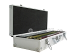 picture of White Swan Mah Jongg - White Tiles - Aluminum Case - Silver (3 of 11)