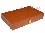 picture of Zaza & Sacci® Leather/Microfiber Backgammon Set - Model ZS-425 - Brown (10 of 12)