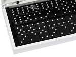 picture of Double 6 Swarovski Crystal Black Dominoes Set - White Croco Case (2 of 6)
