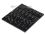 picture of Double 6 Swarovski Crystal Black Dominoes Set - White Croco Case (5 of 6)