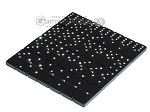 picture of Double 6 Swarovski Crystal Black Dominoes Set - Brown Lizard Case (5 of 6)