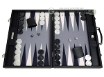 picture of Hector Saxe Carbon Linen/Felt Backgammon Set - Black (1 of 12)