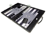 picture of Hector Saxe Carbon Linen/Felt Backgammon Set - Black (3 of 12)