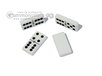picture of Double 6 Dominoes Set - Black Croco Case (6 of 6)