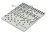 picture of Double 6 Dominoes Set - Beige Leather Case (5 of 6)