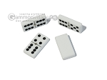 picture of Double 6 Dominoes Set - Beige Leather Case (6 of 6)