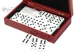 picture of Double 6 Dominoes Set - Red Croco Case (3 of 6)