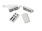 picture of Double 6 Dominoes Set - Red Croco Case (6 of 6)