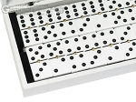 picture of Double 6 Dominoes Set - White Croco Case (2 of 6)