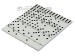 picture of Double 6 Dominoes Set - White Croco Case (5 of 6)