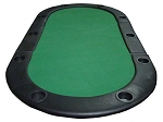picture of 84in. Tri-Fold Poker Table Top w/ Cup Holders (3 of 4)