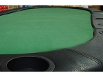 84in. Tri-Fold Poker Table Top w/ Cup Holders