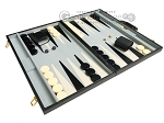 picture of 21-inch Tournament Backgammon Set - Black (2 of 11)