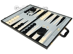 picture of 21-inch Tournament Backgammon Set - Black (3 of 11)