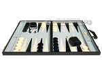 picture of 21-inch Tournament Backgammon Set - Black (4 of 11)