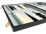 picture of 21-inch Tournament Backgammon Set - Black (5 of 11)