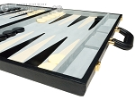 picture of 21-inch Tournament Backgammon Set - Black (6 of 11)