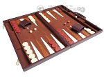 picture of 21-inch Tournament Backgammon Set - Brown (2 of 11)