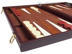 picture of 21-inch Tournament Backgammon Set - Brown (5 of 11)