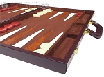 picture of 21-inch Tournament Backgammon Set - Brown (6 of 11)
