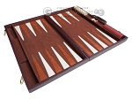 picture of 21-inch Tournament Backgammon Set - Brown (9 of 11)