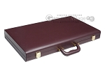 picture of 21-inch Tournament Backgammon Set - Brown (11 of 11)