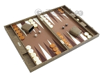 picture of Hector Saxe Faux Snake Backgammon Set - Medium - Beige (2 of 12)
