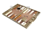picture of Hector Saxe Faux Snake Backgammon Set - Medium - Beige (3 of 12)