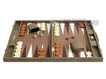 picture of Hector Saxe Faux Snake Backgammon Set - Medium - Beige (4 of 12)