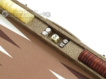 picture of Hector Saxe Faux Snake Backgammon Set - Medium - Beige (9 of 12)