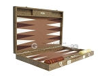 picture of Hector Saxe Faux Snake Backgammon Set - Medium - Beige (10 of 12)