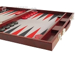 picture of Hector Saxe Faux Snake Backgammon Set - Medium - Maroon (6 of 12)